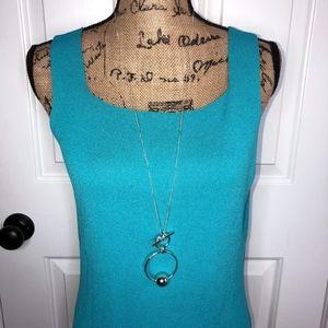 Lauren Ralph Lauren Toggle Necklace NWT